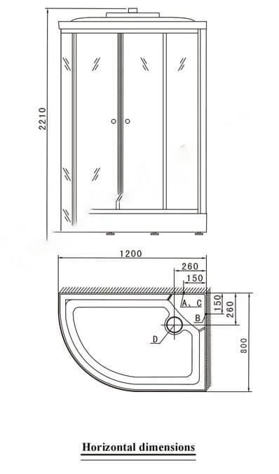 Phòng xông hơi ướt Appollo A-0851